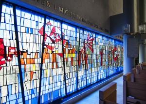 Glasmosaikfönstret